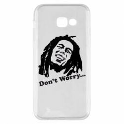 Чехол для Samsung A5 2017 Don't Worry (Bob Marley)