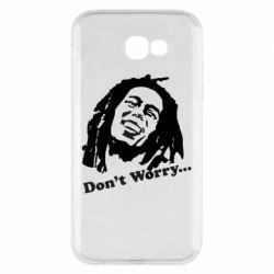 Чехол для Samsung A7 2017 Don't Worry (Bob Marley)