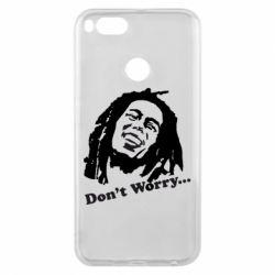 Чехол для Xiaomi Mi A1 Don't Worry (Bob Marley)
