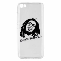 Чехол для Xiaomi Mi5/Mi5 Pro Don't Worry (Bob Marley)