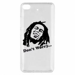 Чехол для Xiaomi Mi 5s Don't Worry (Bob Marley)