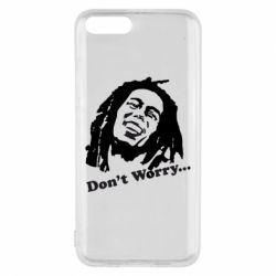 Чехол для Xiaomi Mi6 Don't Worry (Bob Marley)