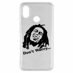 Чехол для Xiaomi Mi8 Don't Worry (Bob Marley)