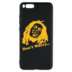 Чехол для Xiaomi Mi Note 3 Don't Worry (Bob Marley)
