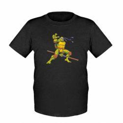 Детская футболка Donatello