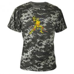 Камуфляжная футболка Donatello - FatLine