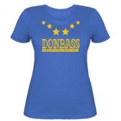 Женская футболка Donbass - FatLine