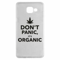 Чехол для Samsung A5 2016 Dont panic its organic