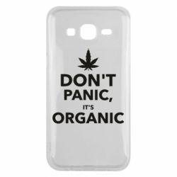 Чехол для Samsung J5 2015 Dont panic its organic