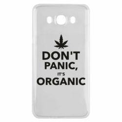 Чехол для Samsung J7 2016 Dont panic its organic