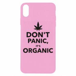 Чехол для iPhone Xs Max Dont panic its organic