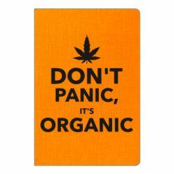 Блокнот А5 Dont panic its organic