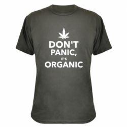 Камуфляжная футболка Dont panic its organic