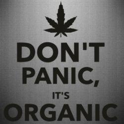 Наклейка Dont panic its organic