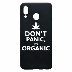 Чехол для Samsung A30 Dont panic its organic