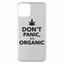 Чехол для iPhone 11 Dont panic its organic
