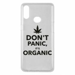 Чехол для Samsung A10s Dont panic its organic