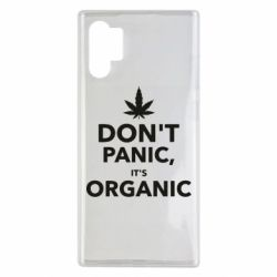 Чехол для Samsung Note 10 Plus Dont panic its organic