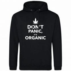 Мужская толстовка Dont panic its organic