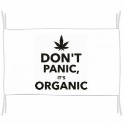 Флаг Dont panic its organic
