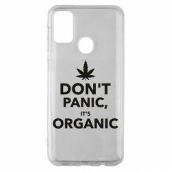 Чехол для Samsung M30s Dont panic its organic