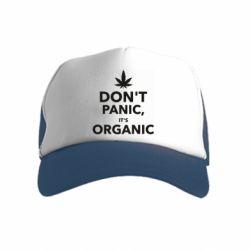 Детская кепка-тракер Dont panic its organic