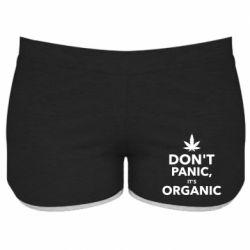 Женские шорты Dont panic its organic