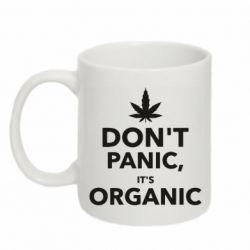 Кружка 320ml Dont panic its organic