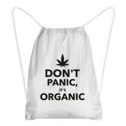 Рюкзак-мешок Dont panic its organic