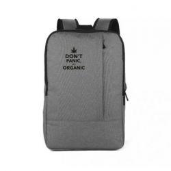 Рюкзак для ноутбука Dont panic its organic