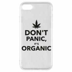 Чехол для iPhone 7 Dont panic its organic