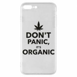 Чехол для iPhone 7 Plus Dont panic its organic