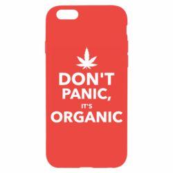 Чехол для iPhone 6/6S Dont panic its organic