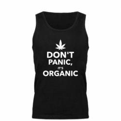 Мужская майка Dont panic its organic
