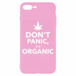 Чехол для iPhone 8 Plus Dont panic its organic