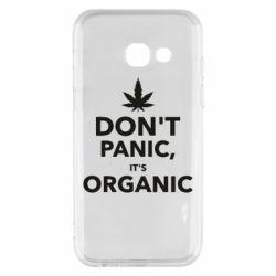 Чехол для Samsung A3 2017 Dont panic its organic