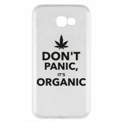 Чехол для Samsung A7 2017 Dont panic its organic