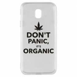 Чехол для Samsung J3 2017 Dont panic its organic