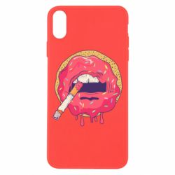 Чехол для iPhone X Donut SWAG - FatLine