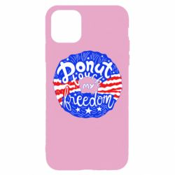 Чохол для iPhone 11 Pro Donut  touch  my  freedom