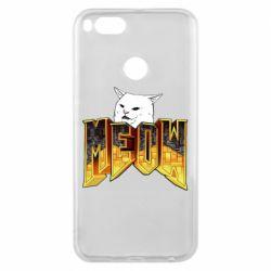 Чехол для Xiaomi Mi A1 Doom меов cat