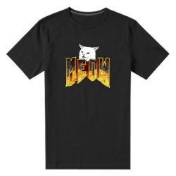 Чоловіча стрейчева футболка Doom меов cat