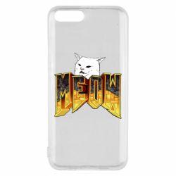 Чехол для Xiaomi Mi6 Doom меов cat