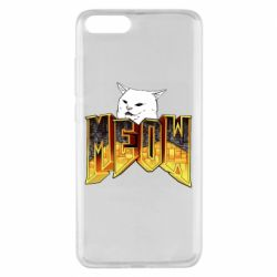 Чехол для Xiaomi Mi Note 3 Doom меов cat