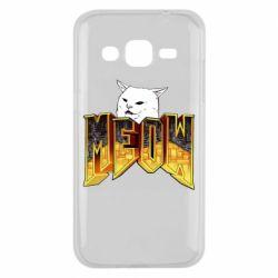 Чохол для Samsung J2 2015 Doom меов cat