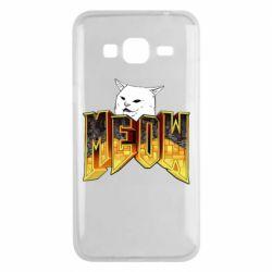 Чохол для Samsung J3 2016 Doom меов cat
