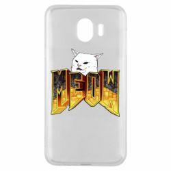 Чохол для Samsung J4 Doom меов cat