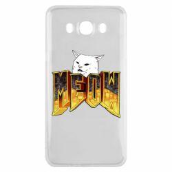 Чохол для Samsung J7 2016 Doom меов cat