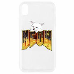 Чохол для iPhone XR Doom меов cat