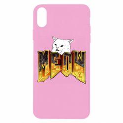Чохол для iPhone Xs Max Doom меов cat